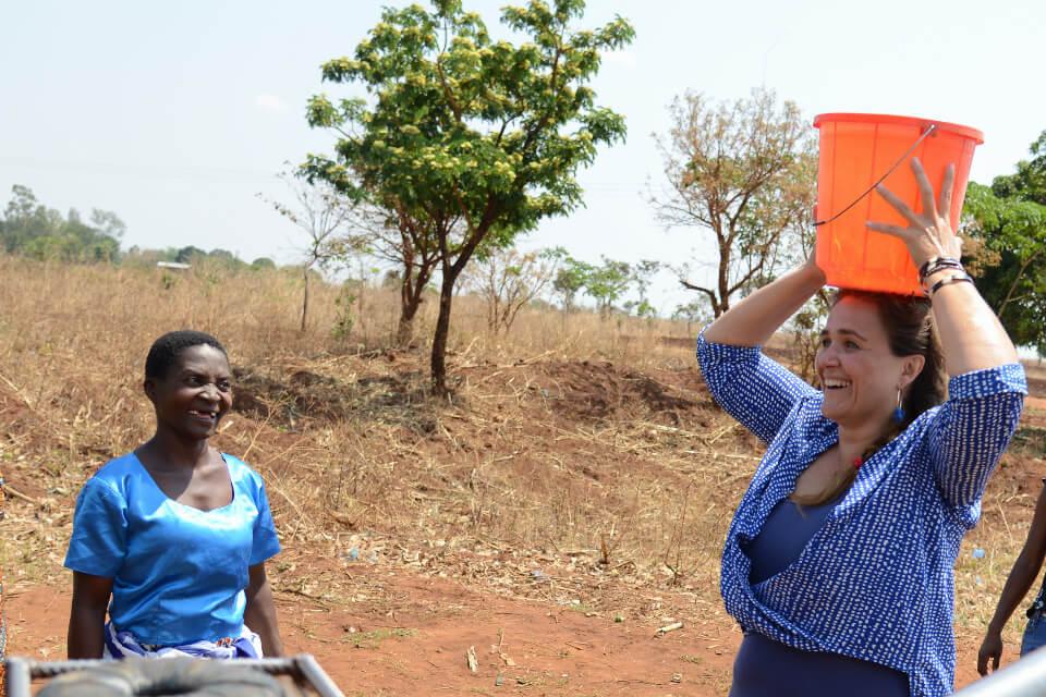 brunnenbau für Malawi