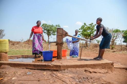 Brunnenbau Malawi Corona-Soforthilfe