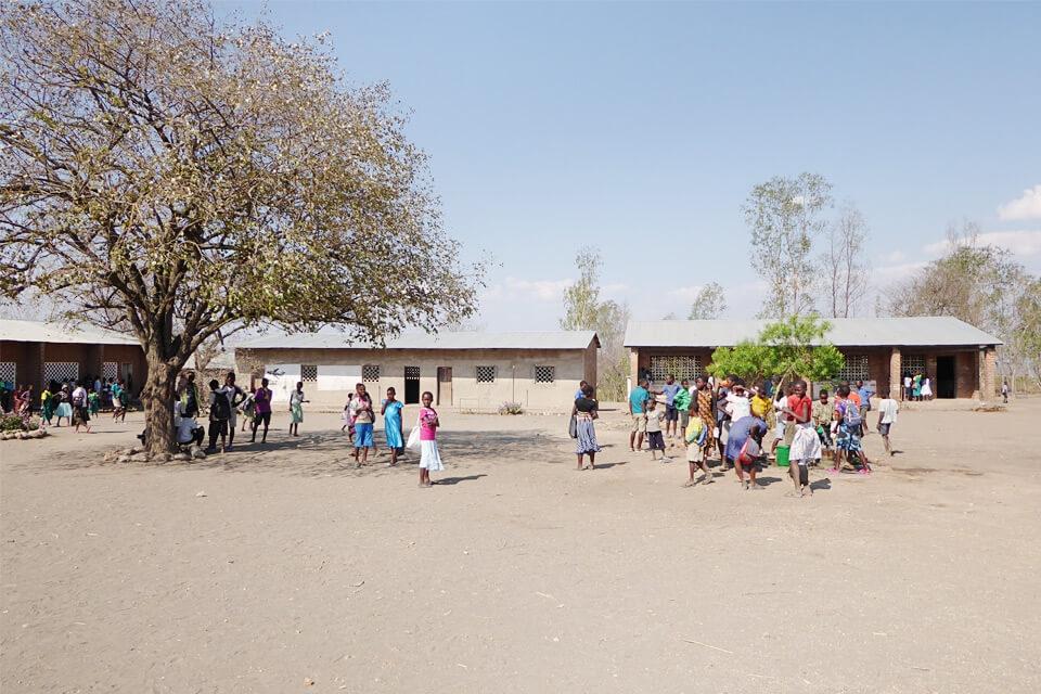 Die Gemeinde von Muonekera ist hoch motiviert