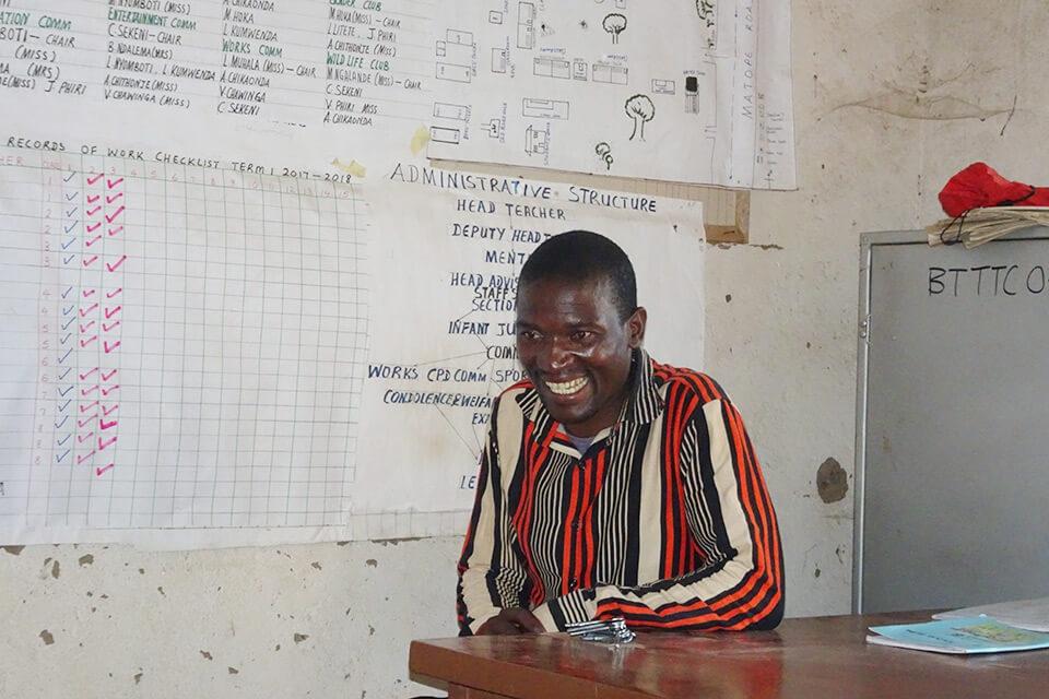 Lehrer der Muonekera-Grundschule in Malawi