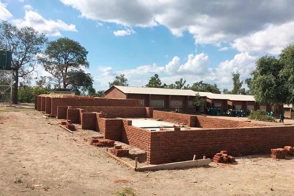 Erweiterung der Muonekera-Grundschule in Malawi