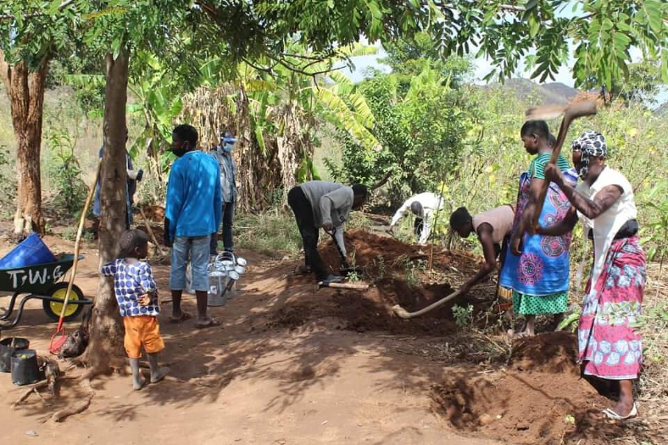 Nkuyu-Grundschule Permakultur