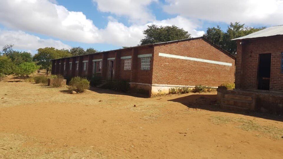 Nkuyu-Grundschule Klassenzimmer